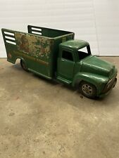Vintage 1940s Buddy L Railway Express Agency Ford Pressed Steel Toy Truck