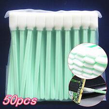 50Pcs/bag Esponja De Limpieza De Cabezales Limpiador Hisopo lentes de las cámaras Hisopos de impresora de chorro de tinta