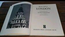 Beautiful London by Helmut Gernshiem 1950 vintage old book