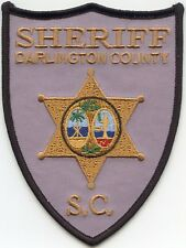 new style DARLINGTON COUNTY SOUTH CAROLINA SC SHERIFF POLICE PATCH