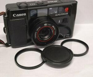 Canon AF35ML & AF35M 49mm Step Up Ring, UV Filter and Lens Cap