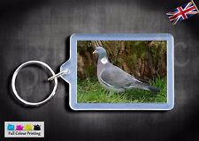 Wood Pigeon bird Key ring Keyring Premium Quality Wildlife birds photograph