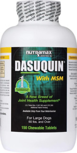 Nutramax Dasuquin 150 Chewable Tabs W/MSM Large Dogs Joint Health Supplement