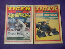 2-BRITISH COMICS-TIGER AND SCORCHER-MARCH 4 & 11'78