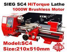 SIEG SC4 / 210x510mm HiTorque Bench Lathe Super C4 1000W  Brushless Motor