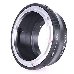 Canon FD Lens to Fujifilm X Mount Fuji X-Pro1 X-E2 X-M2 Adapter Ring Tube FD-FX