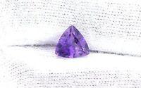 9mm Trilliant Natural Rich Colored Amethyst Gem Stone Gemstone EBS1802RCH