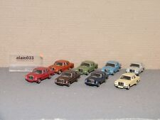 Set De 8 Mercedes Benz Schuco 1/87 Ref 452635400