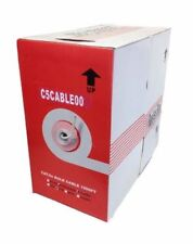 BRAND NEW 305m CAT5e Stranded FULL COPPER UTP Network Cable Reel VIOLET 1000ft
