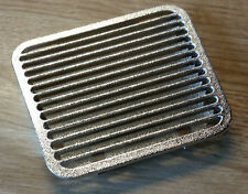 BMW 3 SERIES E36 COUPE SATIN CHROME PARCEL SHELF VENT INSERT REPLACEMENT GRILL