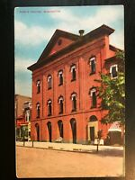 Vintage Postcard>1907-1915>Ford's Theatre>Washington>District of Columbia