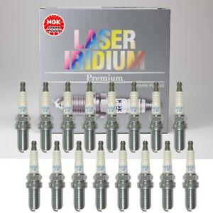 NGK Laser Iridium Spark Plugs ILFR6A 3588 Set of 16 for Mercedes-Benz