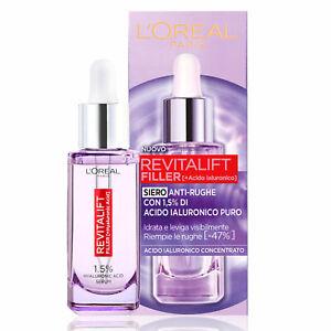 L'Oréal Paris Revitalift Filler HA Siero Concentrato Antirughe Acido Ialuronico