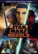 Star Wars Rebels Complete Season 3 Series Three Third (Region 2) New DVD
