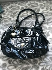 Suzy Smith black patent bag