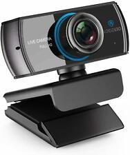 Webcam 1080P/1536P Live Streaming Camera with Microphones Web Cam/Works New