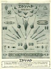 Publicité ancienne bijoux Edyad 1925 issue de magazine