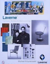 BOOK/LIVRE/BUCH: LAVERNE furniture,textiles,wallcoverings,design mobilier,meuble
