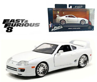 1:32 FAST & FURIOUS BRIAN'S TOYOTA SUPRA DIECAST MODEL CAR COLLECTOR VEHICLE TOY