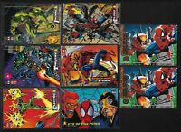 1994 Fleer Ultra X-Men Trading Card #142 Wolverine vs. Spider-Man (2) + LOT