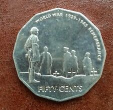 2005 Australian Remembrance 50 cent coin ~hardly circulated