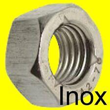ECROU FREIN TOUT METAL type nylstop - INOX A2 - M3 (6)