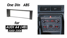 1Din Car Radio Fascia for 2001 2002 2003 2004 Audi A4 (4B) Stereo Panel Trim Kit