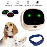 4G WiFi Pet GPS LBS Anti-Lost Cat Dog Tracker Waterproof Locator Fence Collar