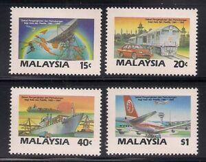Malaysia  1987  Sc # 364-67   VLH   (48366)