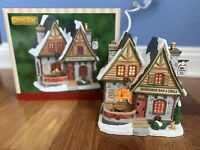 Lemax Vail Village Collection - Snowshoe Bar & Grill #05624 NIB Inside Scenes