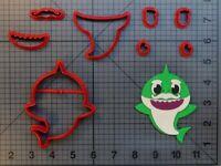 Music Shark Character 266-A851 Cookie Cutter Set