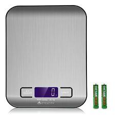 Etekcity 11 lb 5 kg Multifunction Digital Kitchen Food Scale, Stainless Steel