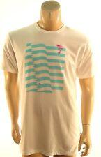 Body Rags NEW White Waves Palm Tree Graphic Print T-Shirt XL