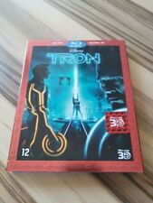 Disney Tron Legacy 3D & 2D Blu-Ray Disc with slipcover