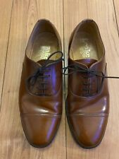 Mens Tan Leather 'Loake' Shoes - UK Size 6 - Worn But Excellent Condition