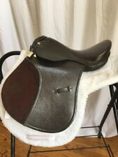 """Childs 14"""" All Purpose Saddle W Suede Knee Roll"""