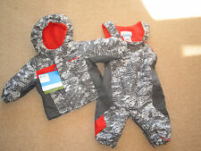 BRAND NEW BOYS COLUMBIA SNOW MONKEY SET  SNOW SUIT AGE 6 MONTHS