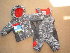 Nuevo Niños Columbia Mono De Nieve conjunto traje de nieve de edad de 6 meses