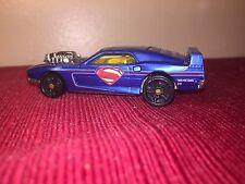 2004 HOT WHEELS REVITED CAR LOOSE Blue Super man D.C. Comics 1:64