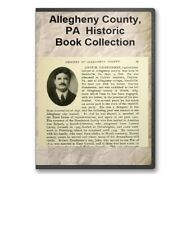 Allegheny County PA Pennsylvania History Culture Genealogy 17 Book Set - D27