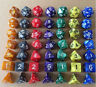 Pearl Multi sided dice set of 7 D4 D6 D8 D10 D12 D20 Dungeons D&D RPG Warhamm AY