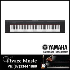 Yamaha NP12 Piaggero 61 Key Portable Digital Piano Keyboard - 3 YEARS WARRANTY