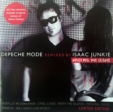DEPECHE MODE - NEVER FEEL THE SILENCE - STRICTLY LIMITED 6 TRACK REMIX EP  RARE!