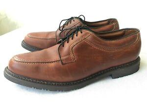 Allen Edmonds 'Wilbert' brown leather Oxfords 11 D