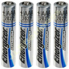 4 x AAA ENERGIZER Ultimate Lithium Batteries MN2400