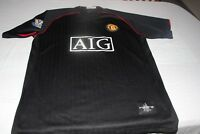 CAMISETA DEL MANCHESTER UNITED THE RED DEVILL TALLA XL PUBLICIDAD AIG SHIRT