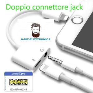 Adattatore Jack per cuffie Lightning per iPhone 7/7 Plus iPhone 8 / 8Plus /X/10