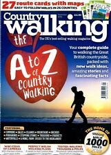 Country Walking Magazine February 2018 Walks Outdoor Rambling Hiking 1000 Miles