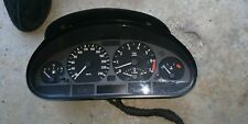 BMW 3 SERIES INSTRUMENT CLUSTER E46 AUTO T/M TYPE, COUPE/CABRIO, 09/98-07/06