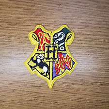 Harry Potter Hogwarts Small Crest embroidered Patch 3 inches tall